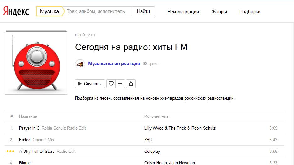Музыка Яндекс скачать