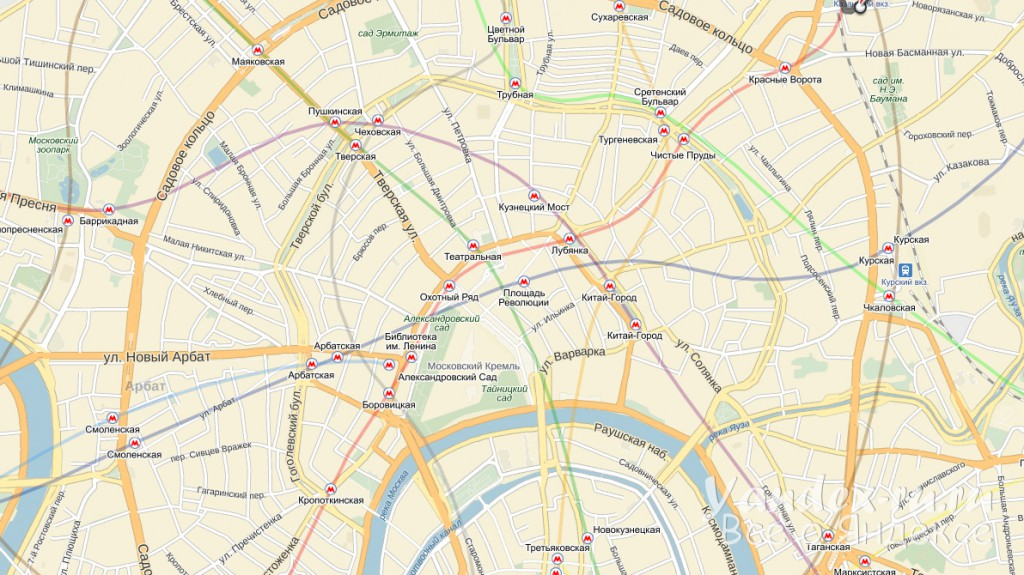 Построить маршрут на карте Яндекс